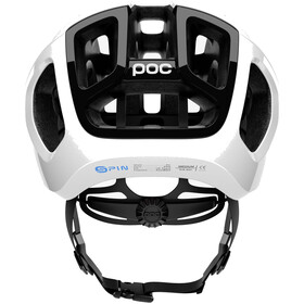 POC Ventral Air Spin Kask rowerowy biały/czarny